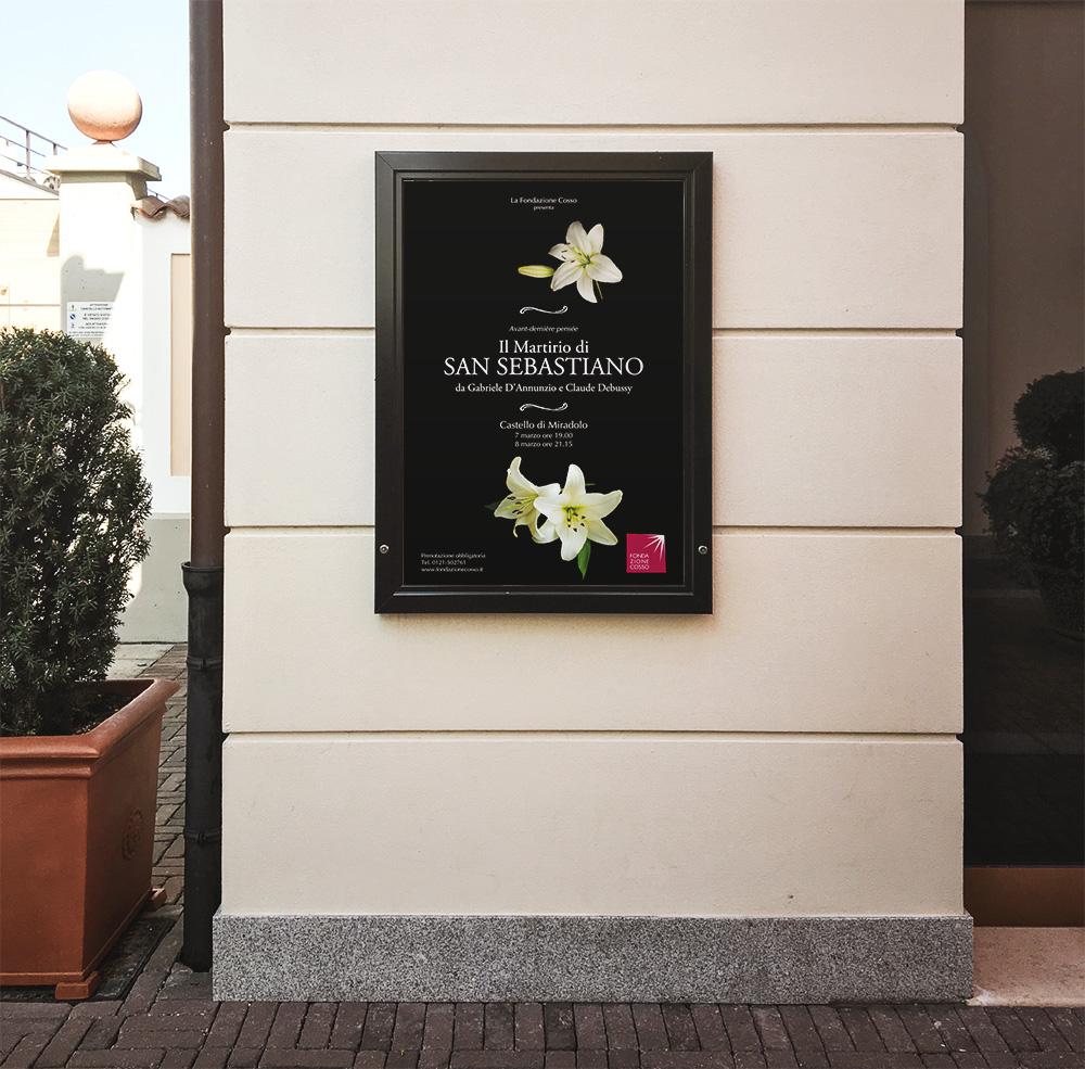 CastellodiMiradolo-Il-Martirio-di-San-Sebastiano-Poster